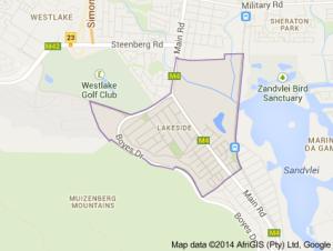 Lakeside Map