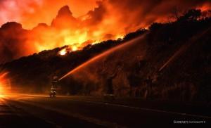 Muizenberg Fire
