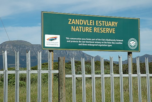 The Zandvlei Estuary Nature Reserve